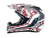 AFX FX-19 Vibe MX Offroad Helmet Red LG 9SIA1450U14065