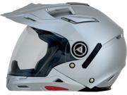 AFX FX-55 7 in 1 Solid Full Face Helmet Silver SM 9SIA1452T27068