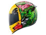 Icon Airframe Pro Brozak Full Face Helmet Green/Yellow/Red SM 9SIA1457SR0887