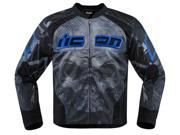 Icon Overlord Reaver Mens Textile Jacket Blue/Black LG 9SIA1453G42699