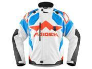 Icon Raiden DKR Mens Jacket Glory/White/Blue MD 9SIA1453FB2723