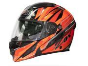 Zox Brigade SVS Voyager Modular Motorcycle Helmet Red/Black MD 9SIA1454707522