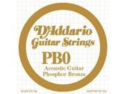 D Addario Single Phosphor Bronze String .047