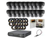 16CH DVR Package - H.264 High Quality DVR & 16 of 620TVL Ultra High Resolution Indoor Cameras (with 1TB HDD)