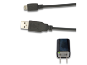 AC Wall Charger + USB Sync Data Cable for LG Marquee LS855 Rumor Reflex LN272