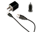 USB Data Cable + AC Wall & Car Charger for Samsung Galaxy Nexus S i9023 GT-i9023