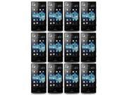 Lot 12X LCD Clear Screen Protector Film + Cloth for Sony Xperia Acro S LT26w