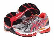 Asics Gel Nimbus 15 Lightning Hot Punch Marigold Womens Athletic Running Shoes