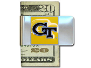 Georgia Tech Pewter Money Clip NCAA