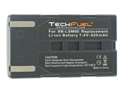 TechFuel Li-ion Rechargeable Battery for Samsung VP-D354 Camcorder