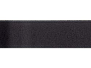 "Single Face Satin Ribbon 5/8"" Wide 18 Feet-Black"