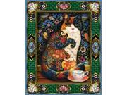 """Jigsaw Puzzle 1000 Pieces 24""""X30""""-Painted Cat"""