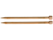 "Bamboo Single Point Knitting Needles 9""-Size 13"