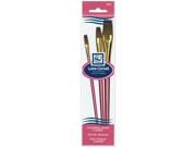 Natural Hair Camel Brush Set-3/Pkg