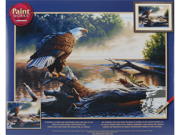 "Paint By Number Kit 20""X14""-Eagle Hunter"