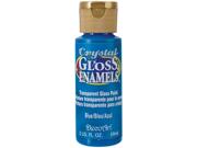 Crystal Gloss Enamels 2 Ounces-Blue