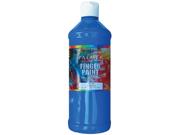 Washable Finger Paint 16 Ounces-Blue