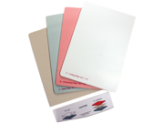 "Grand Calibur Replacement Plates 8.5""X12"" 3/Pkg With Tray-"