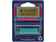 Kreinik Blending Filament 1 Ply 50 Meters (55 Yards)-Turquoise