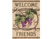 "Welcome Friends Counted Cross Stitch Kit-10""X14"""