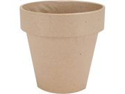 """Paper Mache Flower Pot-5"""""""