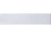 "Non-Roll Ribbed Elastic 1-1/4"""" Wide 30 Yards-White"" 9SIA14P0BU0150"