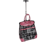 Multi-Purpose Rolling Tote (Plaid)