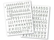 Ek Success SPSRO-04PT Sticko Susy Ratto Brush Letter Stickers 1