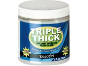 Triple Thick Brilliant Brush-On Gloss Glaze-8 Ounce Jar