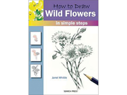 Search Press Books-How To Draw: Wild Flowers