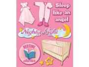 Life's Little Occasions Sticker Medley-Baby Girl Bed