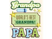 Life's Little Occasions Chipboard Stickers-Grandpa