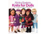 Nicky Epstein Books-Knits For Dolls Nicky Epstein