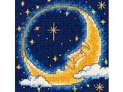 "Moon Dreamer Mini Needlepoint Kit-5""""X5"""" Stitched In Yarn"" 9SIA17P4N24295"