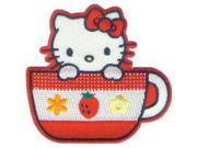 C&D Visionary P-HK-0010 Hello Kitty Patch-Tea Cup 9SIA00Y5205715