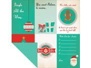 """Gingerbread Double-Sided Cardstock 12""""X12""""-Nutmeg"""
