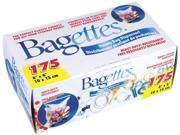"""Bagettes Heavy Duty Reclosable Bags 4""""X6""""-Clear 175/Pkg"""