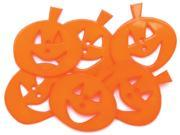 Favorite Findings Buttons-Smiling Pumpkins 6/Pkg