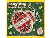 Mosaic Stepping Stone Kit-Lady Bug