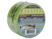 """Duct Tape 2""""X10yds-Green & Black Tackle"""