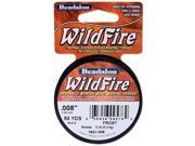 "Wildfire Stringing Wire .008"" (.20mm) Diameter 50 Yds/Pkg-Clear"