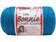 Bonnie Macrame Craft Cord 6mm 100 Yards-Sapphire Teal