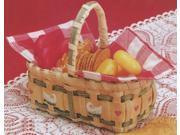 "Burgundy Hill Basket Kits-Gift Basket 3-1/2""X6-1/2""X3"""
