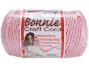 Bonnie Macrame Craft Cord 6mm 100 Yards-Pink