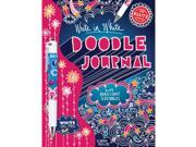 Doodle Journal, Write In White Book Kit-