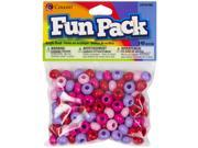 Fun Pack Large Hole Beads ?mm ?/Pkg-Multicolor