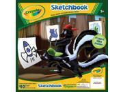 """Crayola Sketchbook 9""""X9""""-40 Sheets/Pkg"""