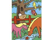 """My First Paint By Number Kit 8-3/4""""X11-3/8""""-Farm Animals"""