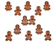 Dress It Up Holiday Embellishments-Gingerbread People