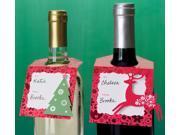 Scandinavian Wine Tags-